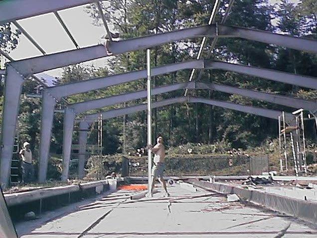 2003 Maggio: struttura coperta a Brenta.