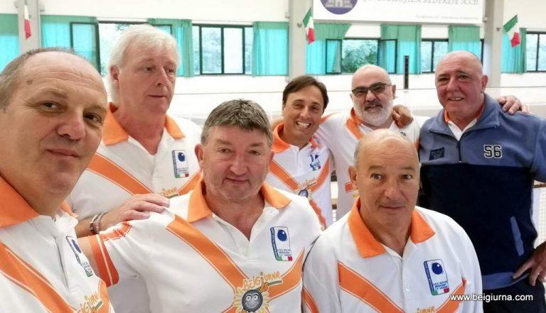 Bocce, a Brezzo di Bedero grande successo per la gara squadra in ricordo di Franco Minetti