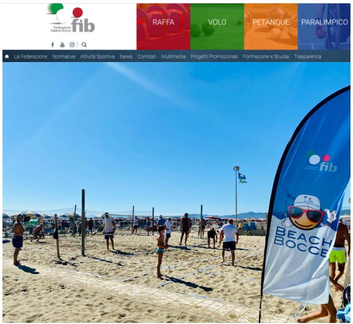 Il tour federale Beach Bocce 2021 entra nel vivo: finali a Marina di Grosseto